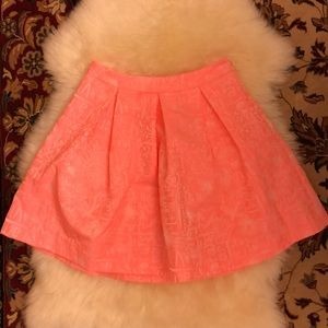 Lilly Pulitzer Pleated Pouf Skirt NEW W/O TAGS